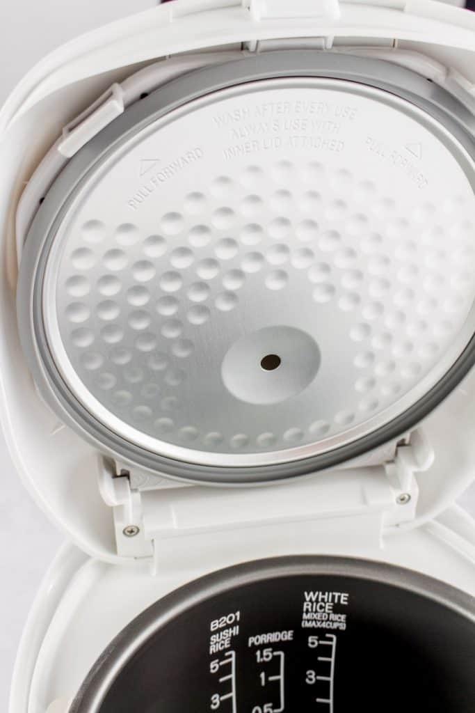 Rice cooker inner liner.
