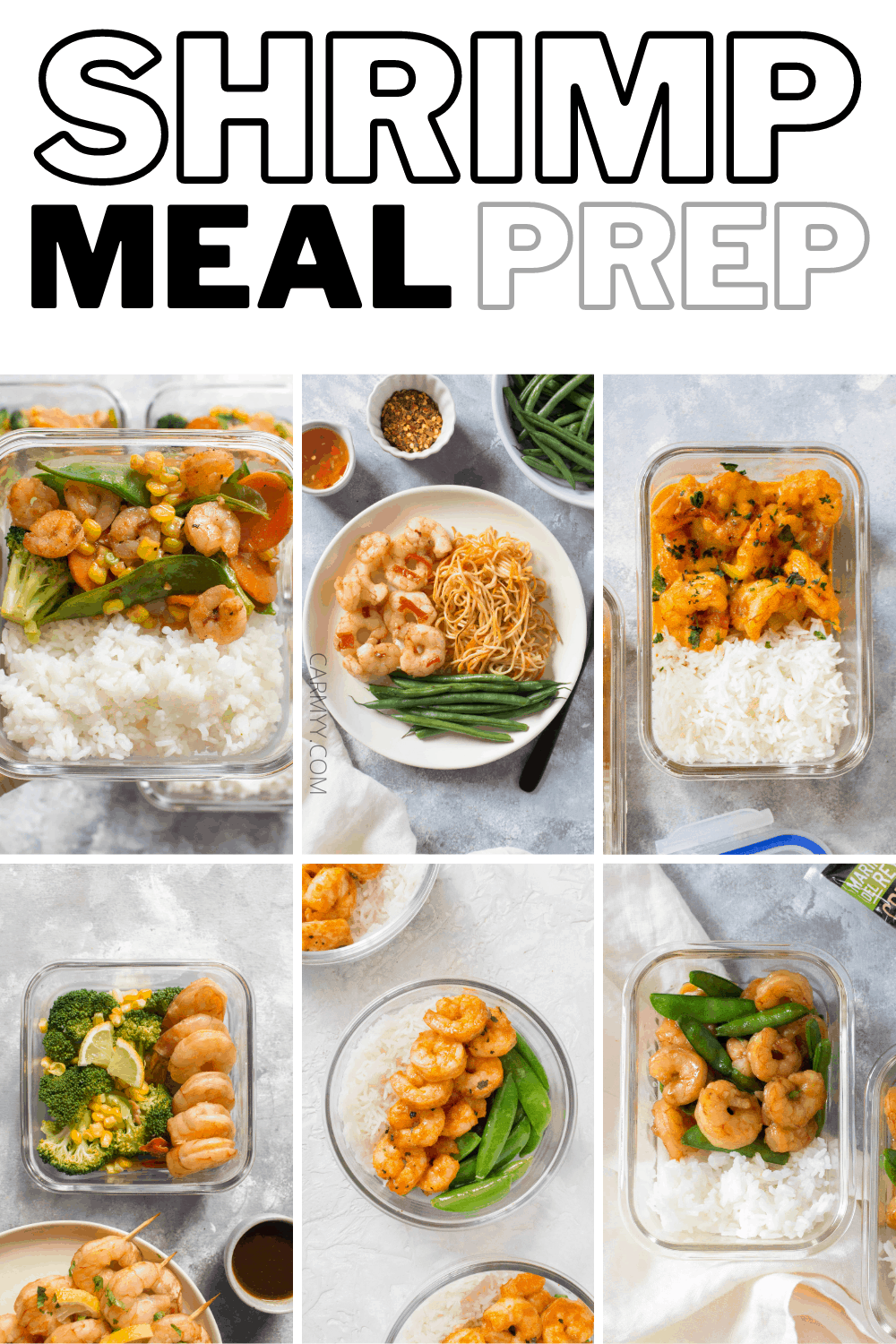 Looking for some delicious and healthy shrimp meal prep recipes? Here are a collection of some of my favourites!