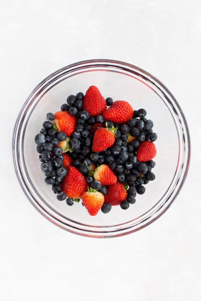 Berries in a bowl.