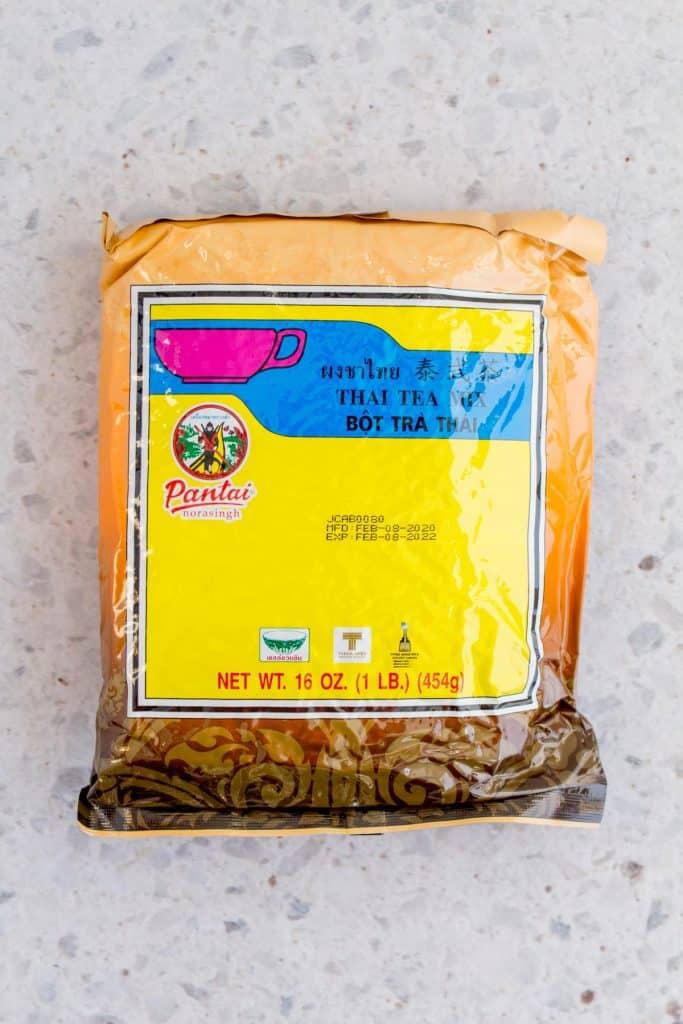 Thai tea.