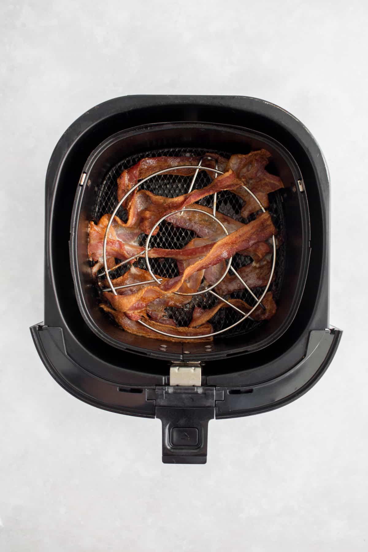 Air fried bacon.